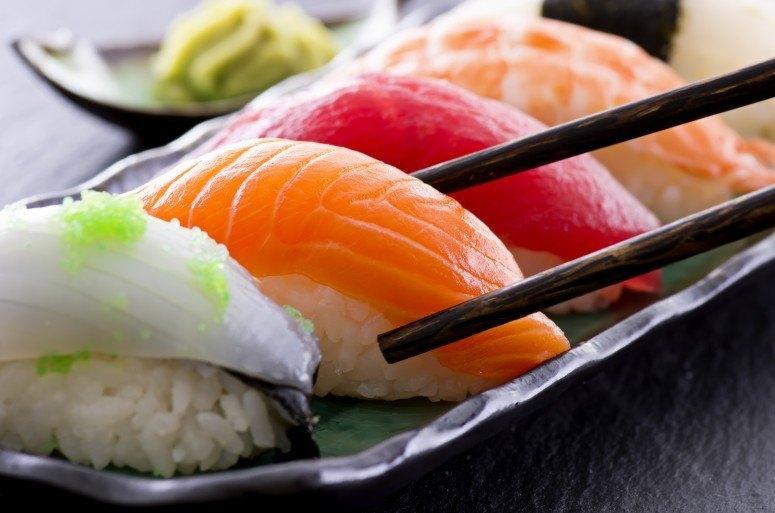 sushi en el embarazo