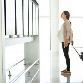 embarazo y los controles en aeropuertos